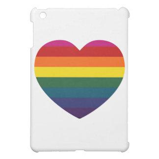 虹のハート iPad MINIカバー