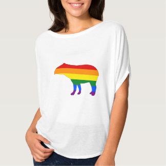 虹のバク Tシャツ