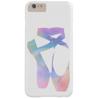 虹のバレエのPointeの靴 Barely There iPhone 6 Plus ケース