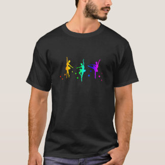 虹のバレエ Tシャツ