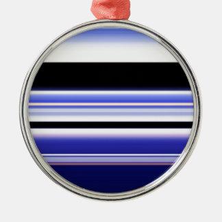 虹のパステルカラーの生地のデザインはAntiquを一周します メタルオーナメント