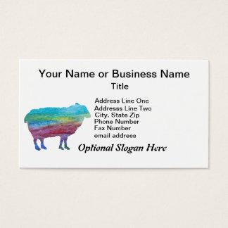 虹のヒツジ 名刺