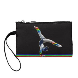 虹のビーム硬貨の財布の体育専門家 コインパース
