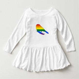 虹のフィンチ ドレス