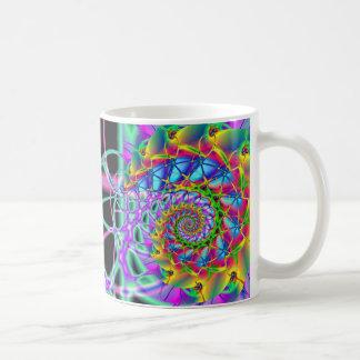 虹のフェニックスの螺線形 コーヒーマグカップ
