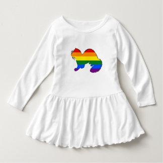 虹のフェレット ドレス