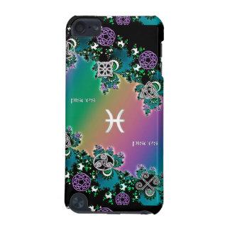 虹のフラクタルの(占星術の)十二宮図の印の魚類iPodの例 iPod Touch 5G ケース