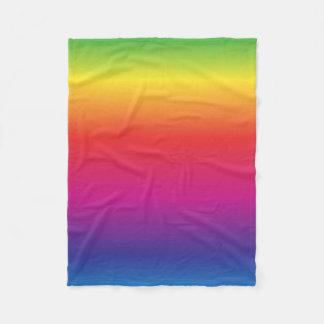 虹のフリースブランケット フリースブランケット