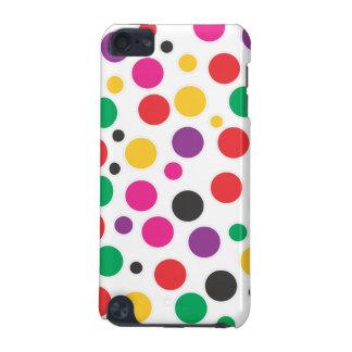 虹のフーセンガムの水玉模様 iPod TOUCH 5G ケース