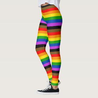 虹のプライドのレギング! レギンス