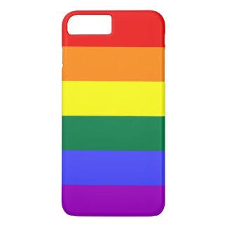 虹のプライドの旗 iPhone 8 PLUS/7 PLUSケース