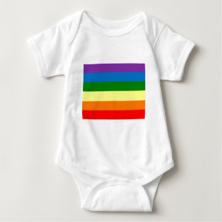 """虹のプライドは""""ちょうどあります。"""" ベビーボディスーツ"""