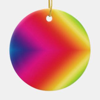 虹のプライド セラミックオーナメント