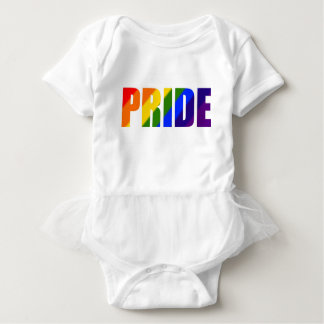 虹のプライド ベビーボディスーツ