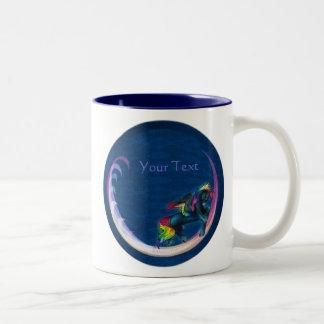虹のペガソスのマグ ツートーンマグカップ