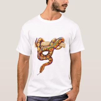 虹のボア・コンストリクターのTシャツ Tシャツ
