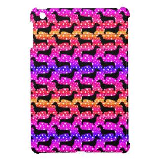 虹のポルカのダックスフント iPad MINIケース