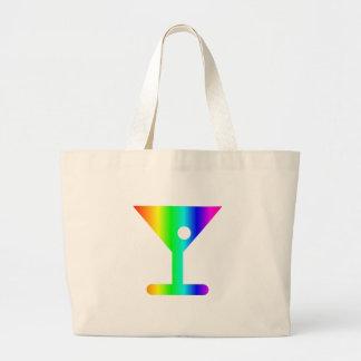 虹のマルティーニガラス ラージトートバッグ