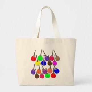 虹のマンドリン ラージトートバッグ