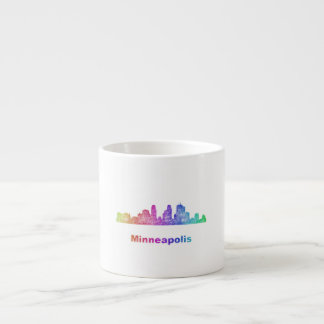 虹のミネアポリスのスカイライン エスプレッソカップ