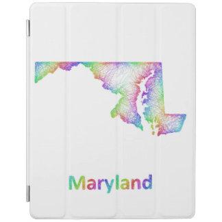 虹のメリーランドの地図 iPadスマートカバー