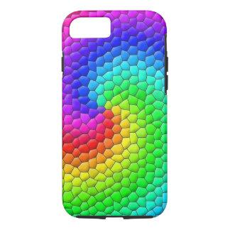 虹のモザイク iPhone 8/7ケース