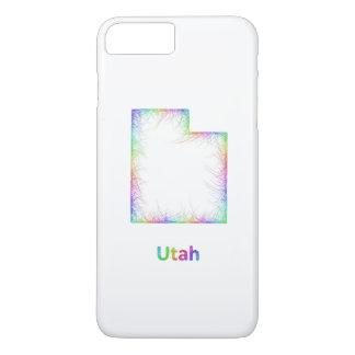 虹のユタの地図 iPhone 8 PLUS/7 PLUSケース