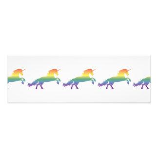 虹のユニコーンのlgbt フォトプリント