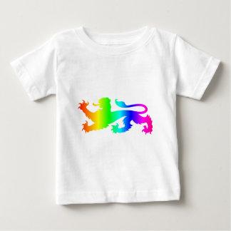 虹のライオンの## ベビーTシャツ