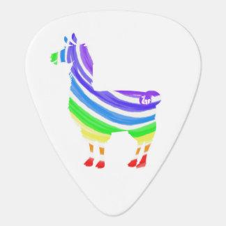 虹のラマのギターピック ギターピック