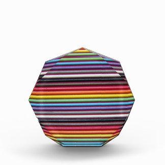 虹のリボン・ケーブルの八角形賞 表彰盾
