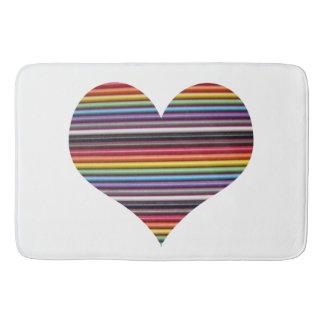 虹のリボン・ケーブル バスマット