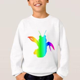 虹のロブスター#2 スウェットシャツ