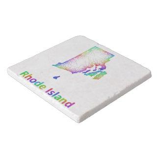 虹のロードアイランドの地図 トリベット