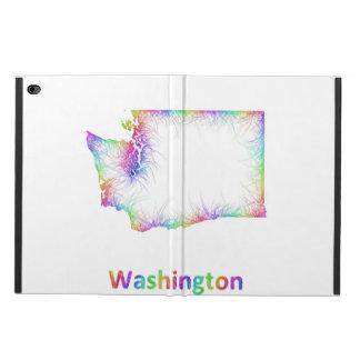 虹のワシントン州の地図 POWIS iPad AIR 2 ケース