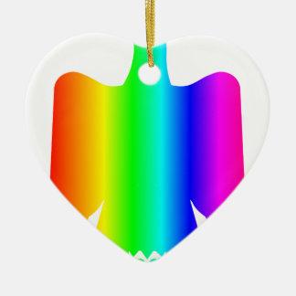 虹のワシ2 セラミックオーナメント