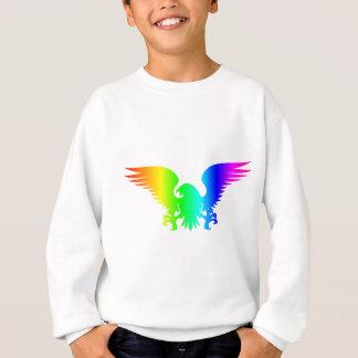 虹のワシ4 スウェットシャツ