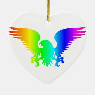 虹のワシ4 セラミックオーナメント