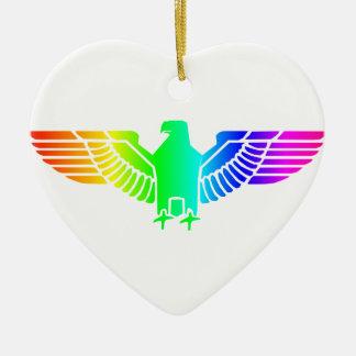 虹のワシ6 セラミックオーナメント