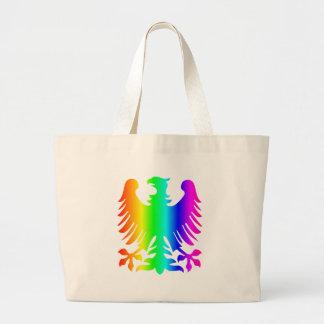 虹のワシ ラージトートバッグ