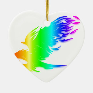 虹のワシ#2 セラミックオーナメント