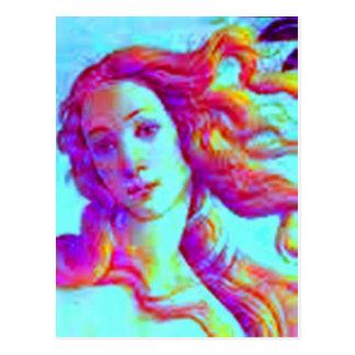 虹のヴィーナス ポストカード