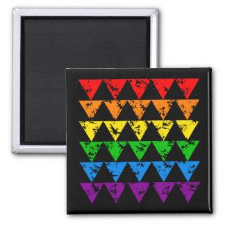 虹の三角形の磁石 マグネット