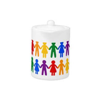 虹の人々パターン