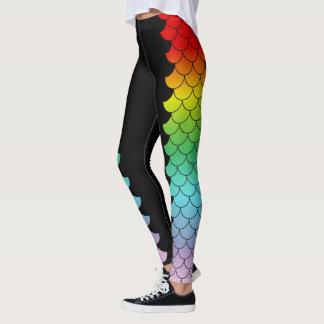 虹の人魚の変態 レギンス