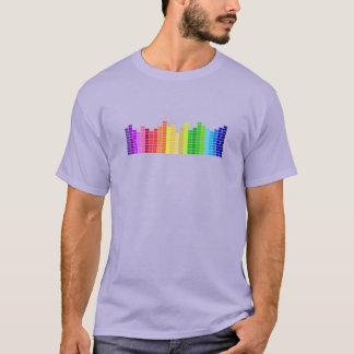 虹の健全なバーのティー Tシャツ
