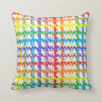 虹の傷の枕 クッション