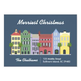 虹の列のチャールストンサウスカロライナカード 12.7 X 17.8 インビテーションカード