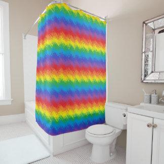 虹の動揺 シャワーカーテン
