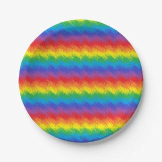 虹の動揺 ペーパープレート